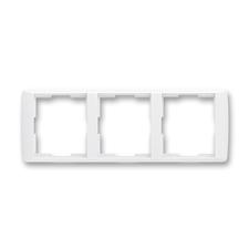 Rámeček trojnásobný vodorovný Element bílá