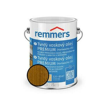 Olej tvrdý voskový Remmers Premium 1363 eiche rusic 2,5 l