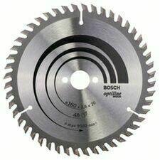 Kotouč pilový Bosch Optiline Wood 160×20/16×1,6 mm 48 z.