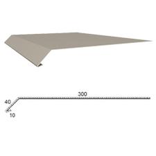 Okapnice z poplastovaného plechu Viplanyl r.š. 350 mm