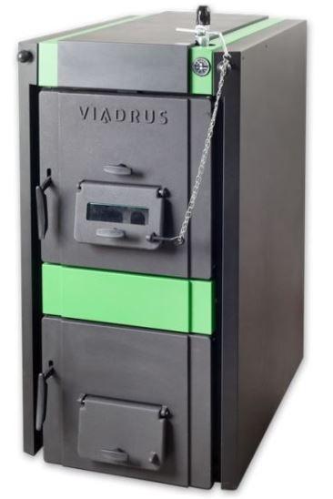 Litinový zplyňovací kotel pro spalování dřeva a uhlí VIADRUS Hercules U32 7 čl.