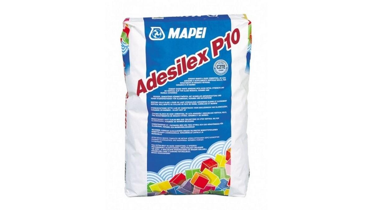 Práškové cementové lepidlo ADESILEX P10 5 kg bílý
