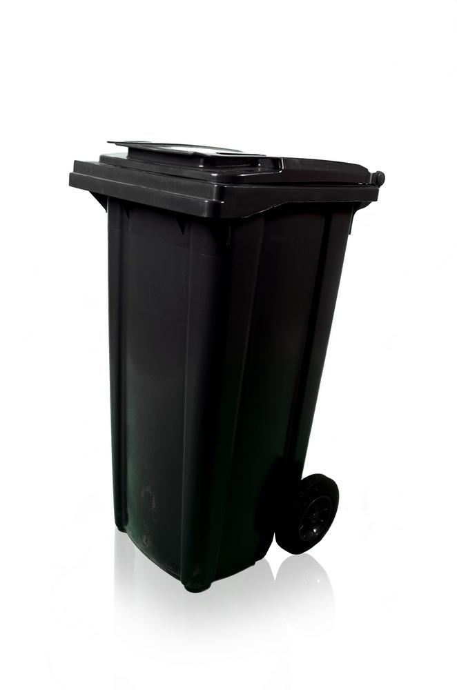 Plastová popelnice MGB 120 l, černá