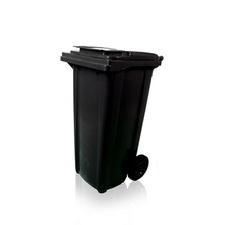 Popelnice plastová TBA MGB 120 l černá