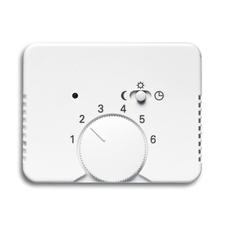 Kryt termostatu s otočným ovladačem Alpha alabastr
