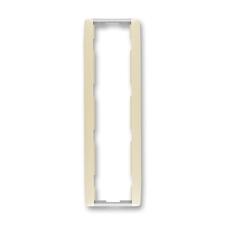 Rámeček čtyřnásobný svislý Element slonová kost / ledová bílá