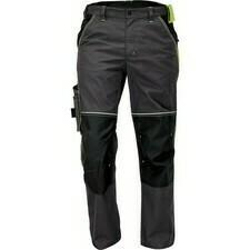 Kalhoty Cerva KNOXFIELD antracit/žlutá 56