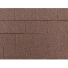 Šindel asfaltový Tegola ECO roof rectangular hnědý 3,05 m2
