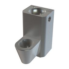 Set WC rovný Sanela SLWN 38P, WC na zemi