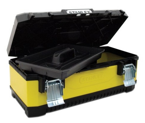 Kovoplastový box na nářadí (49,7x29,3x22,2) cm