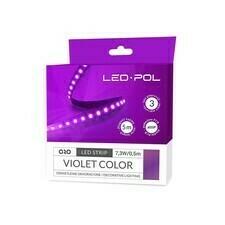 Pásek LED Led-Pol 12 V 14,6 W/m fialová