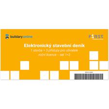 Elektronický deník – roční licence – set 1+3