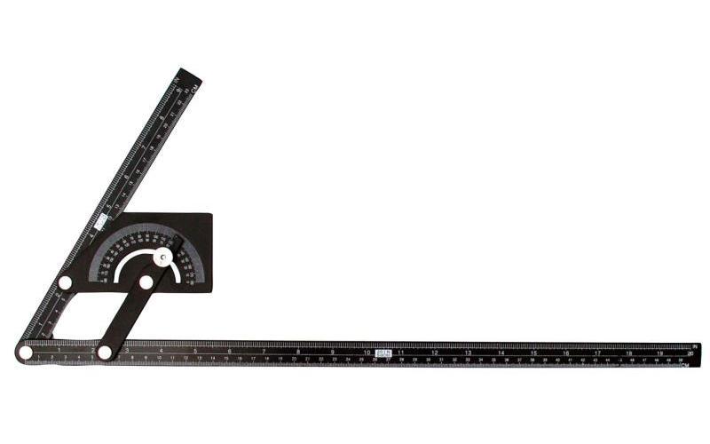 Úhloměr 0 - 180 230x500mm - 114075