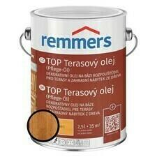 Olej terasový Remmers TOP teak, 2,5 l