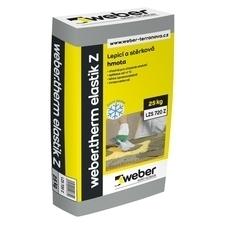 Hmota lepicí a stěrková Webertherm elastik Z 25 kg