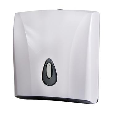 Zásobník na papírové ručníky Sanela SLDN 03, bílý