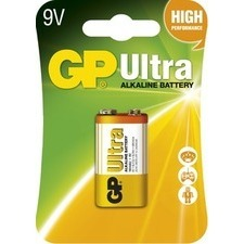 Baterie alkalická GP ULTRA 6LF22(9V) 1 ks/bal)
