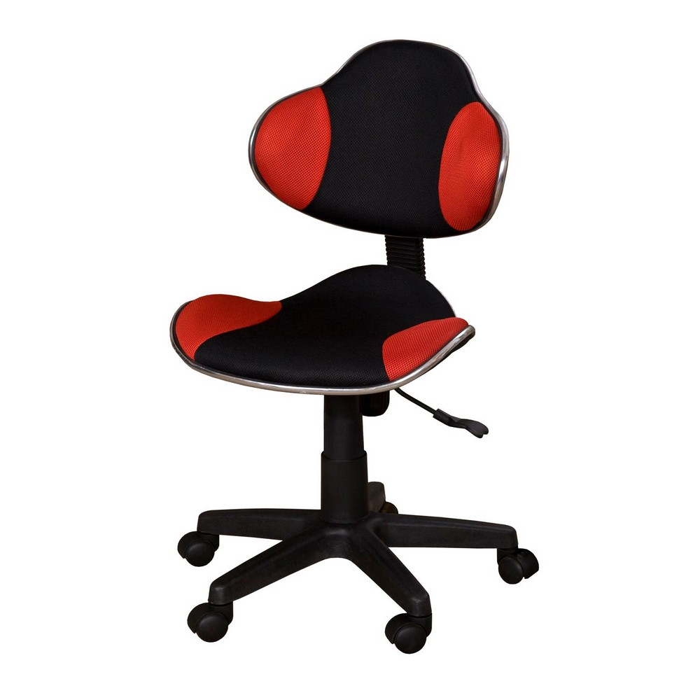 Kancelářská židle JAMES červená, cena za ks
