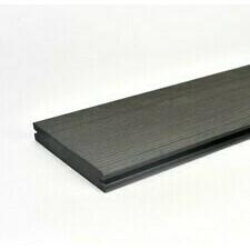 Prkno terasové dřevoplastové Twinson Massive odstín lékořice 140x20×6000 mm