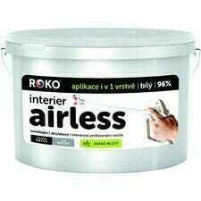 Malba interiérová Roko Interier Airless bílá 40 kg