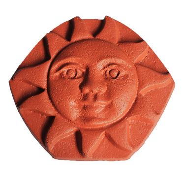 BETONPRES OPTIMAL Hřebenová ucpávka slunce Cihlová