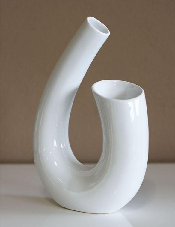 Keramická váza - bílá HL751333