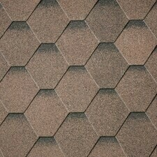 Šindel asfaltový IKO ArmourShield Plus 27 podvojná hnědá ultra 2 m2