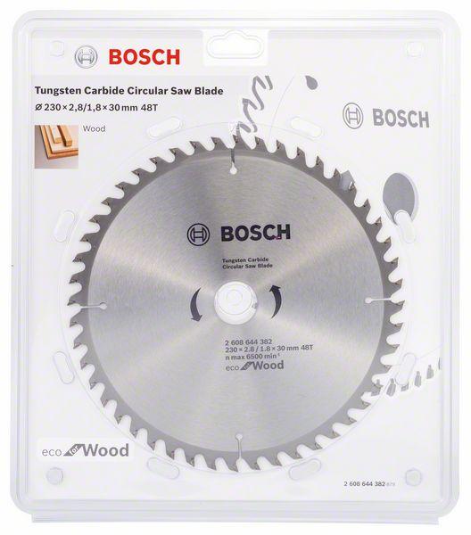 Kotouč pilový Bosch Eco for Wood 230×30×1,8 mm 48 z.