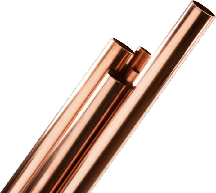 Trubka měděná Supersan 22×1,0 mm × 5 m, polotvrdá
