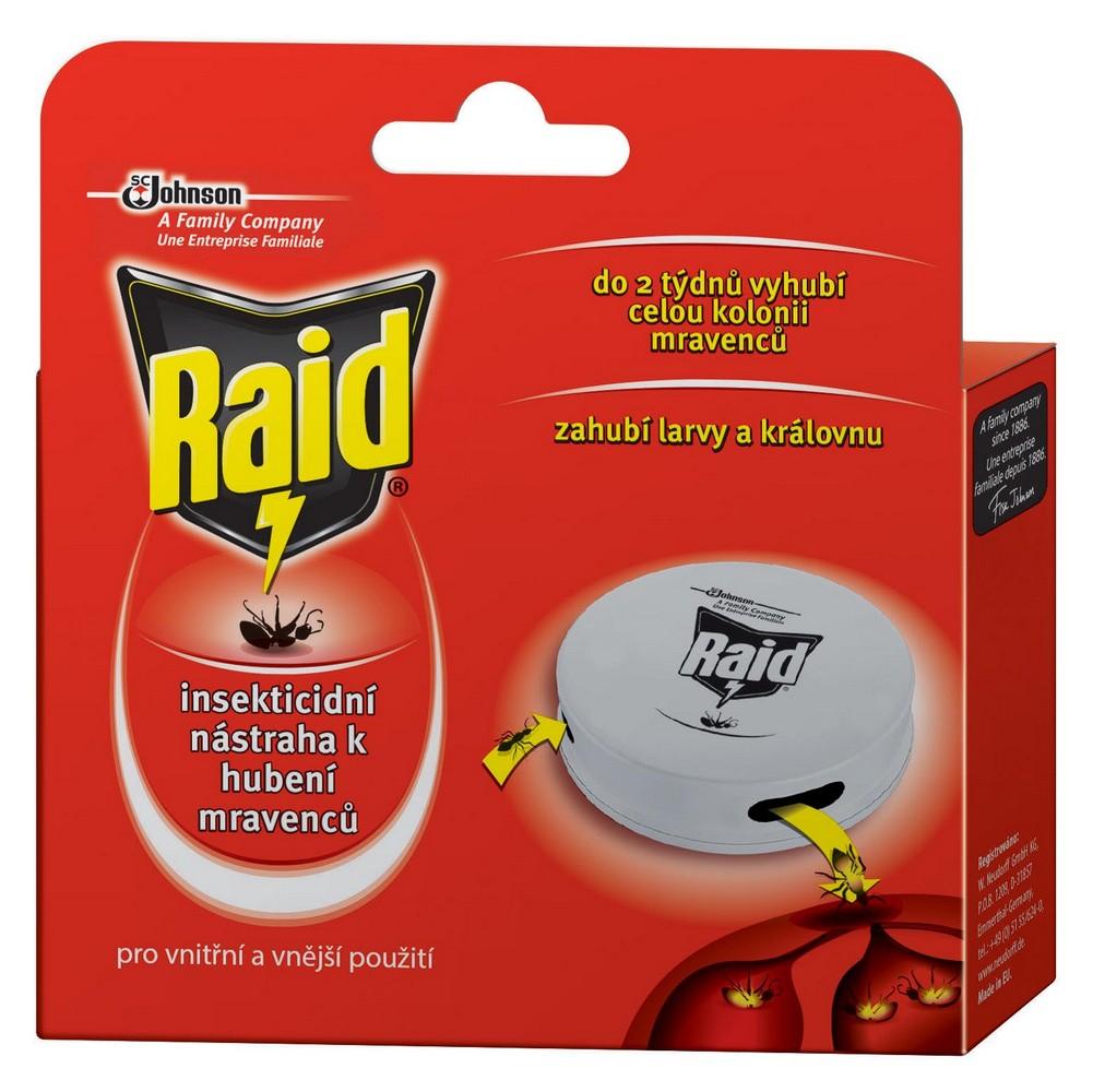 Nástraha na mravence RAID 1 ks, cena za ks