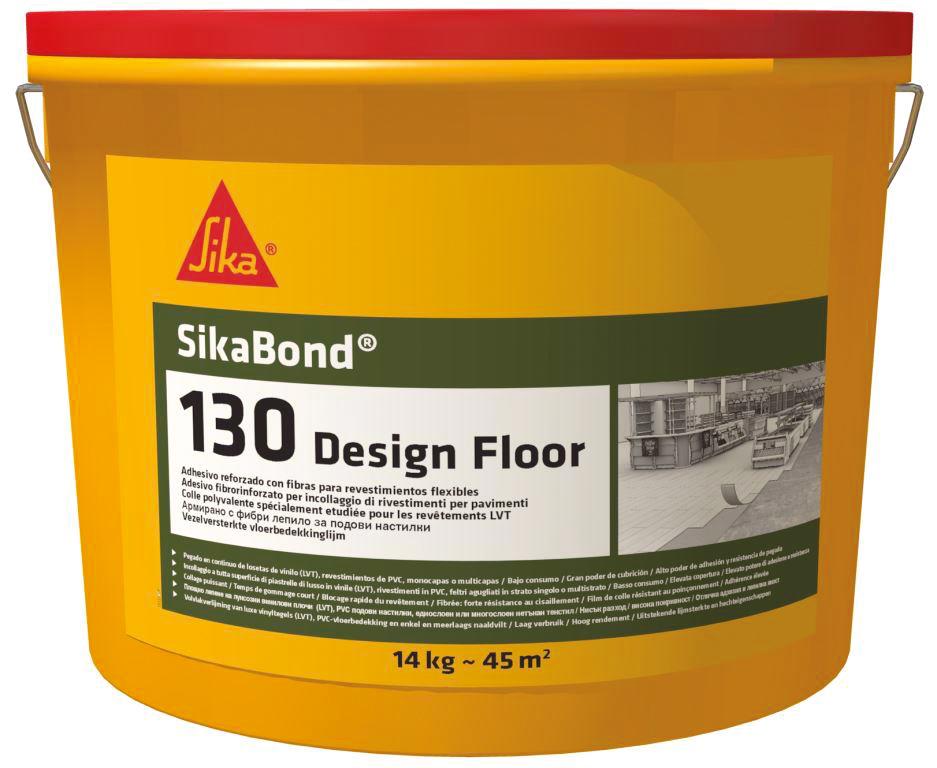 Lepidlo na podlahy Sikabond-130 Design Floor 14 kg