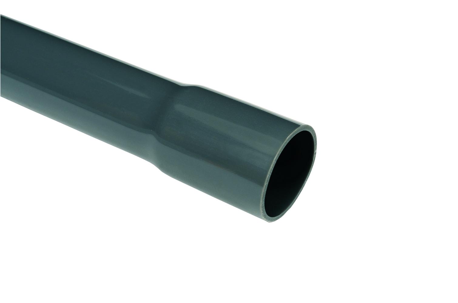 Trubka tuhá hrdlovaná PVC 750 N pr. 25 mm (3m)