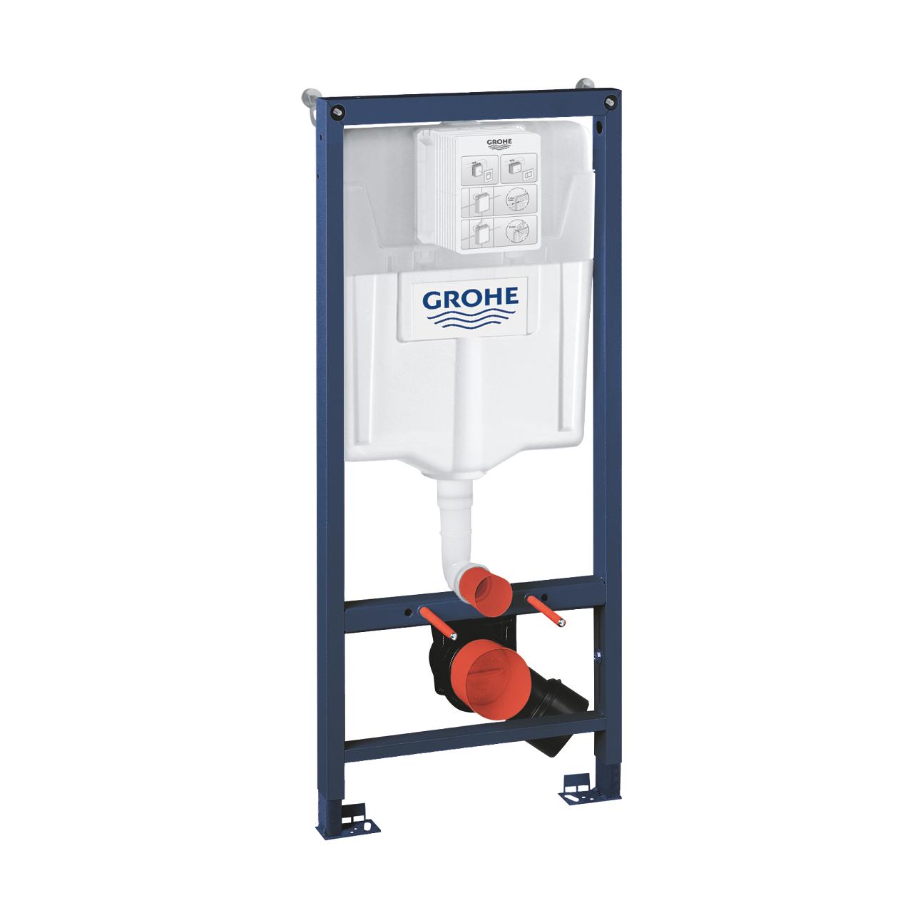 Prvek montážní pro závěsné WC Grohe RAPID SL 113 cm, nádržka GD 2