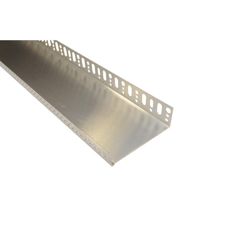 Zakládací profil pod ETICS, hliníková, tl. 1,0 mm, šířka 233 mm, délka 2 m