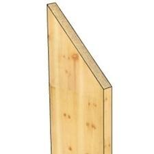 Plotovka šikmina dřevěná jednostranná 18x82x800mm
