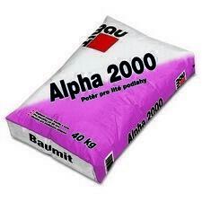 Samonivelační litý potěr Baumit Alpha 2000 40kg