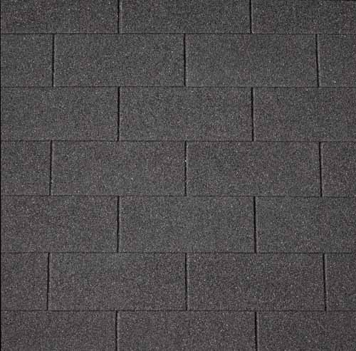 Šindel asfaltový IKO Superglass 3 Tab 01 černá