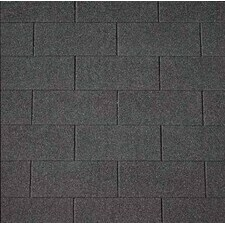 Šindel asfaltový IKO Superglass 3 Tab 01 černá 3 m2