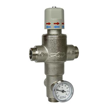 """Ventil termostatický Sanela SLT 10, 6/4"""", (155 l/min. při tlaku 0,1 MPa)"""