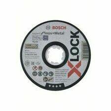 Kotouč řezný korundový Bosch Expert for Inox+Metal X-LOCK 115×22,23×1 mm 25 ks