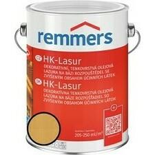 Lazura na dřevo Remmers HK Lasur hemlock, 2,5 l