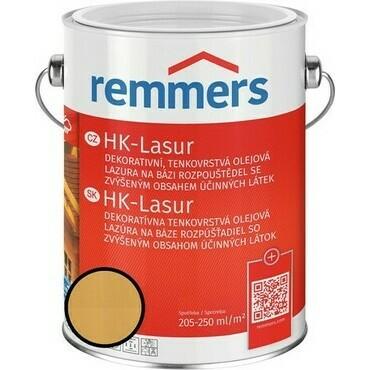 Lazura na dřevo Remmers HK Lasur hemlock, 5 l