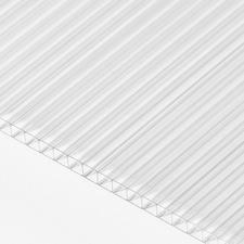 Polykarbonátová dutinková deska MULTICLEAR 6 BOX 2 čirá s UV ochranou 2100×6000 mm