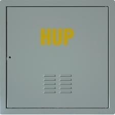 Dvířka revizní HUP M&D 600×600 mm RAL 7038