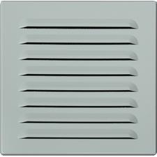 Průvětrník hliníkový M&D 150×150 mm bílá