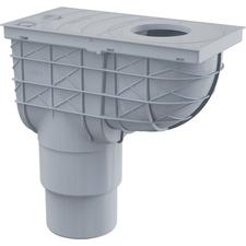 Lapač střešních splavenin DEK DN 100/125 - šedá
