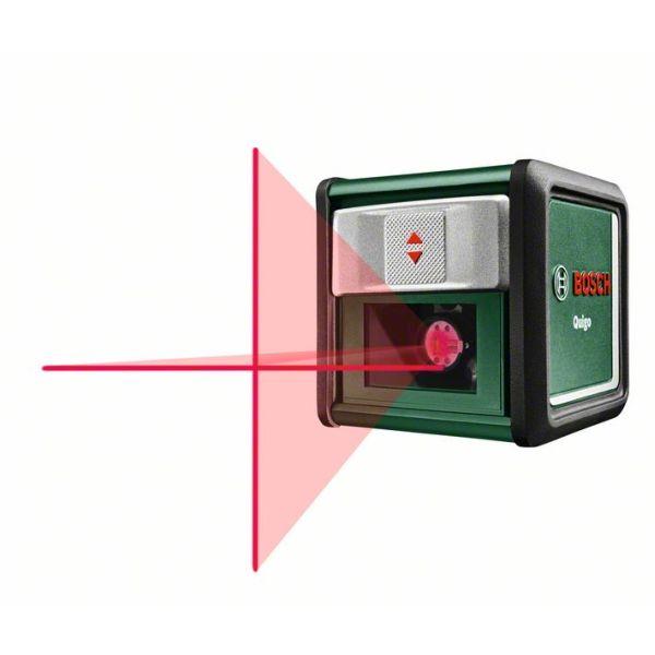 Křížový laser Bosch Quigo, s akumulátorem