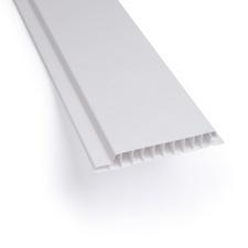 Palubka obkladová plastová bílá 100×9×3000 mm