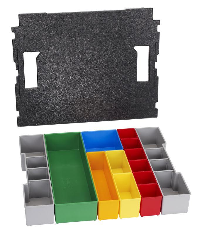 13dílná sada vkládacích boxů pro BOSCH L-BOXX 102 Professional