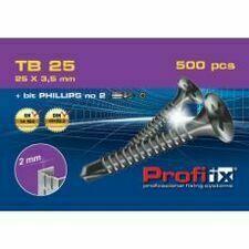Šrouby DK Mont TB 25 mm (100 ks/bal.)